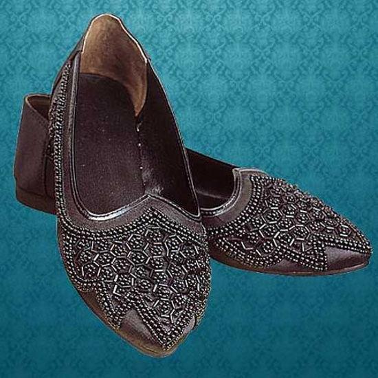Picture of Beaded Renaissance Ladies Dress Shoes