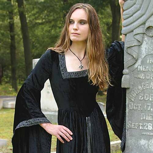 Picture of Black Countess Dress