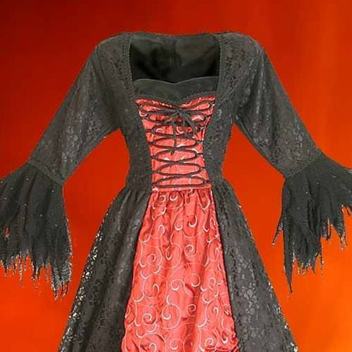 Picture of Gothic Net Dress