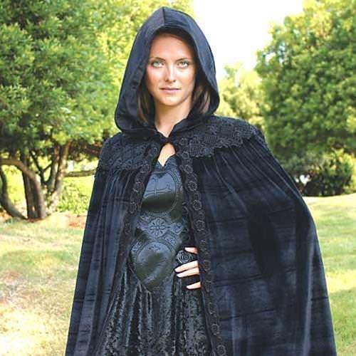 Picture of Midnight Fantasy Velvet Cape
