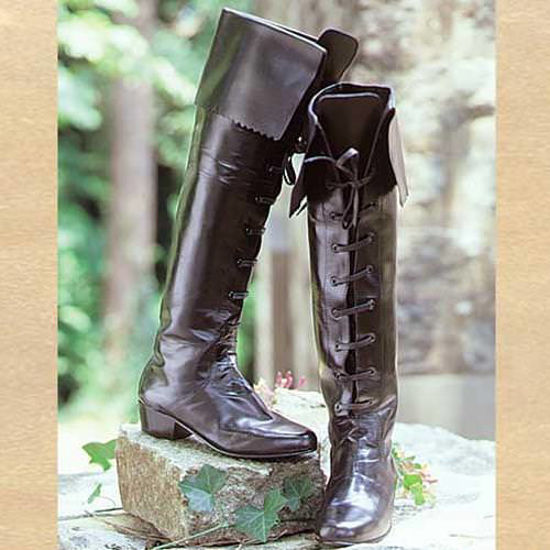 Picture of Tall Renaissance Ladies Boots
