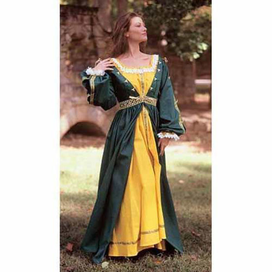 Picture of Yellow Gown