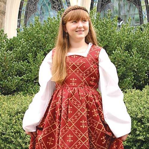 Picture of Fleur de Lis Dress for Girls