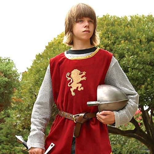 Picture of Boys Knightly Tunic & Mail