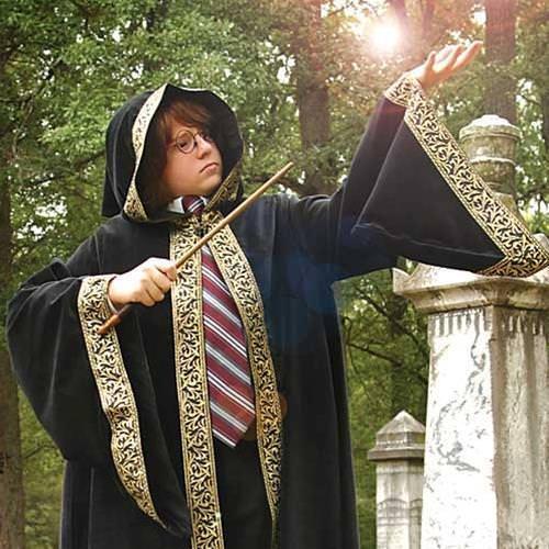 Childrens Wizard Cloak