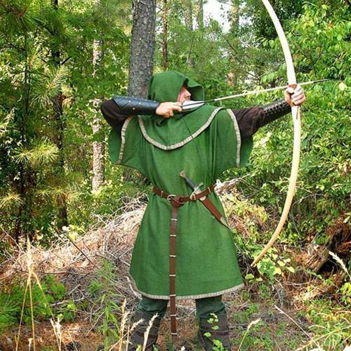Picture of European Longbow & Arrows