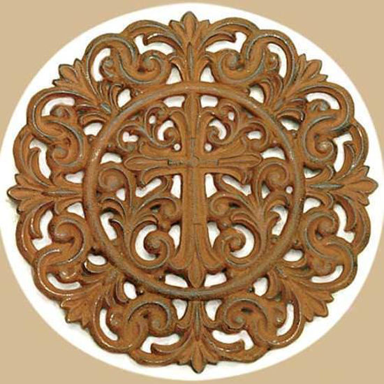 Picture of Trivet Cross Plaque