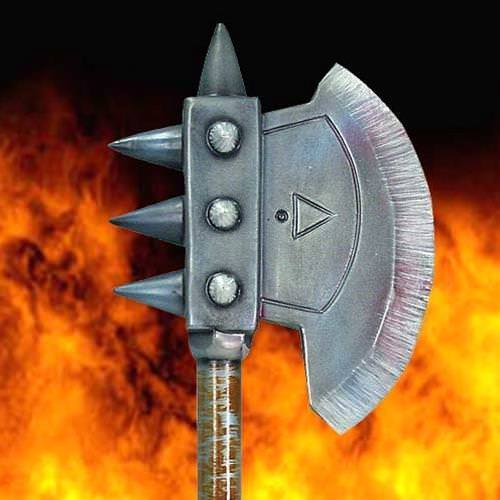 Picture of Vanquisher Battle Axe - Latex