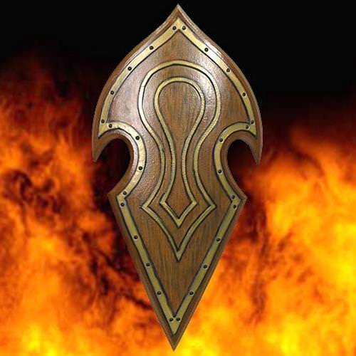 Picture of Elven Battle Shield - Latex