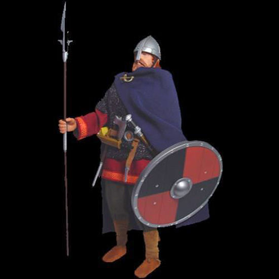 Picture of 9th Century Norse Raider Viking  Action Figure