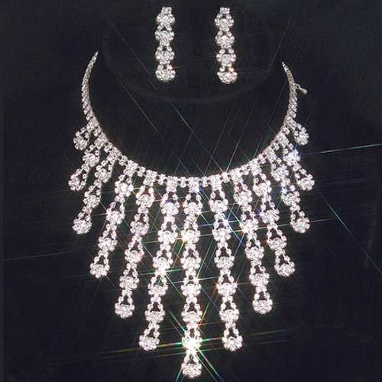 Picture of Waterfall Necklace & Earrings