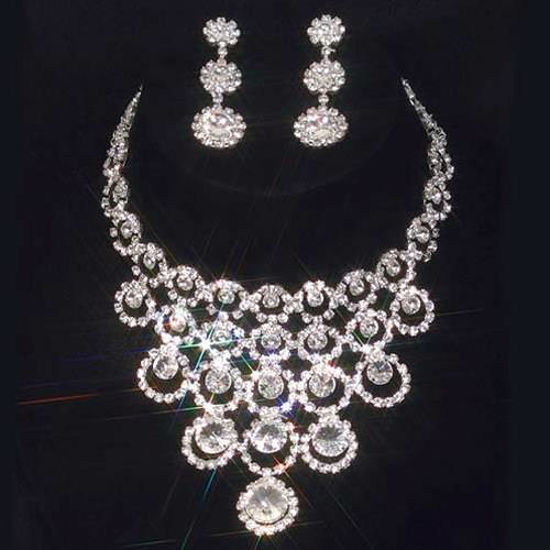 Picture of Starburst Necklace & Earrings