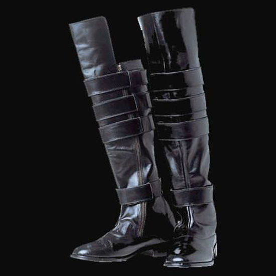 Picture of Black Leather Boots