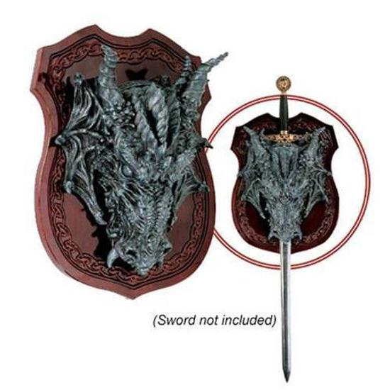 Picture of Dragon Head Plaque / Sword Hanger