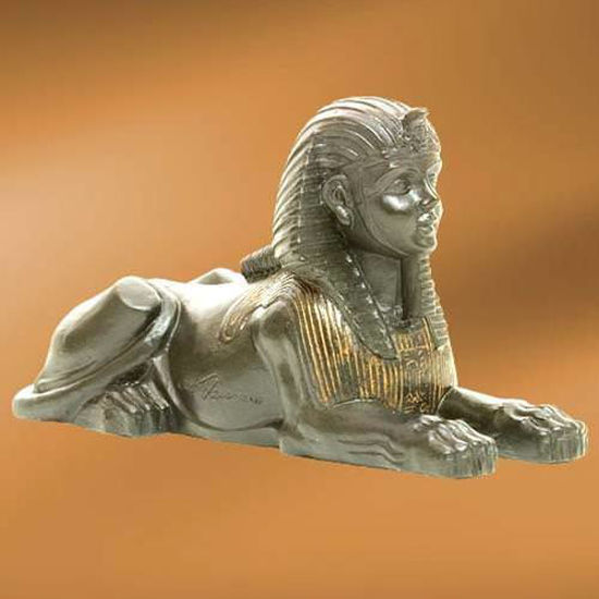 Picture of Egyptian Androsphinx Figure