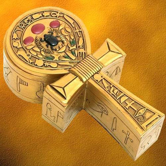 Picture of Egyptian Ankh Box
