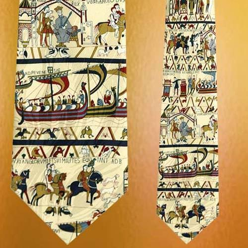 Picture of Museum Artifacts Bayeux Tapestry Silk Tie
