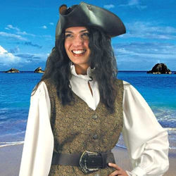 Picture of Mary Read Pirate Vest