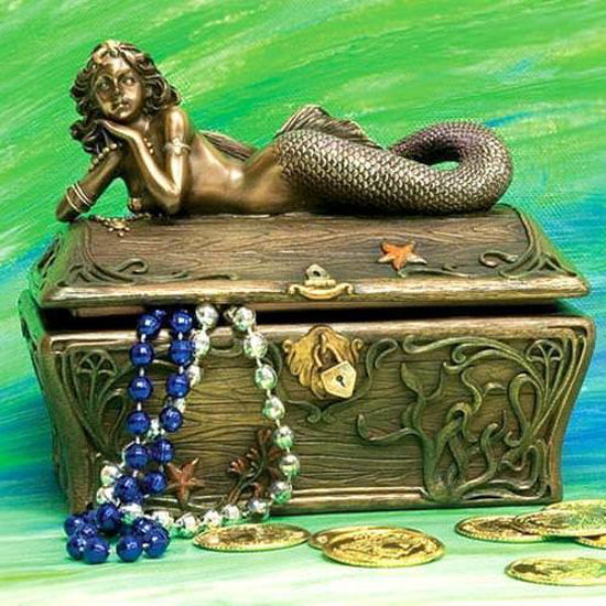 Picture of Mermaid Trinket Box