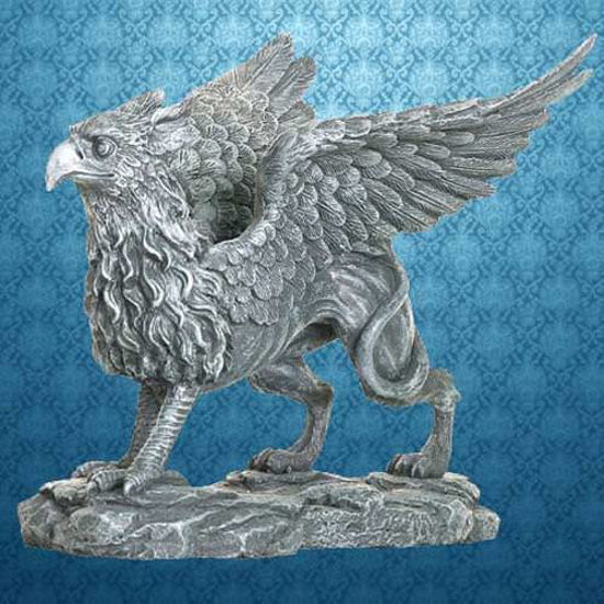 Picture of Standing Griffin Statue