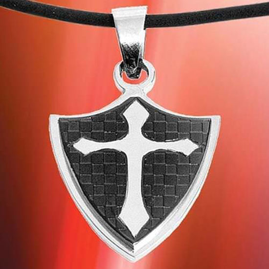 Picture of Cross Shield Pendant