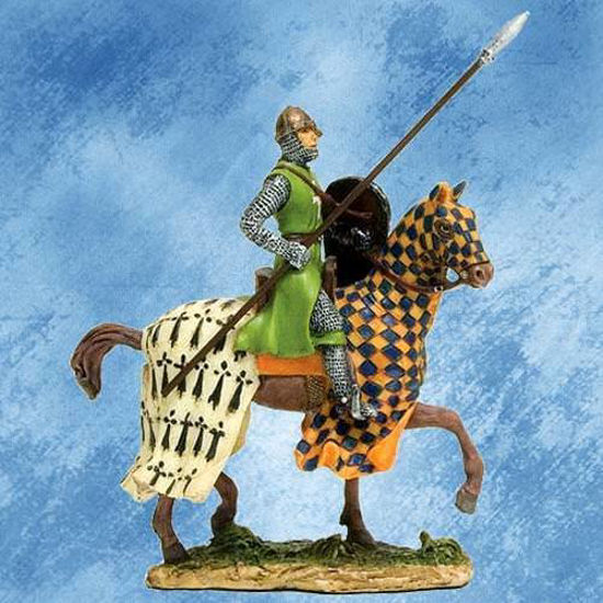 Picture of French Knight On Horseback Figurine