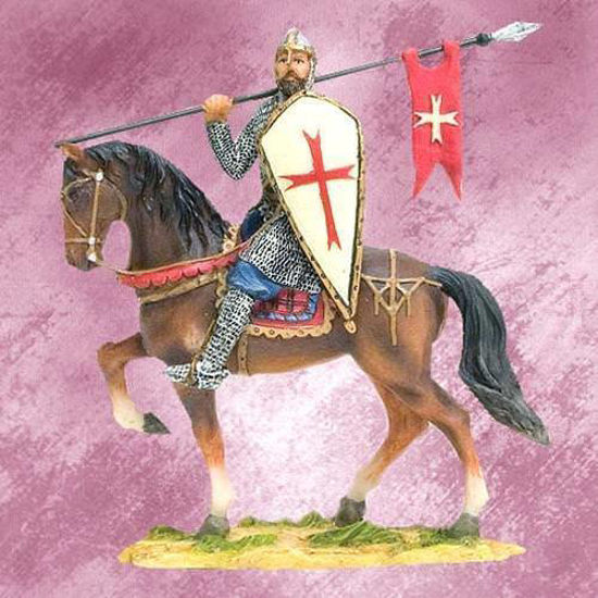 Picture of German Crusader Figurine