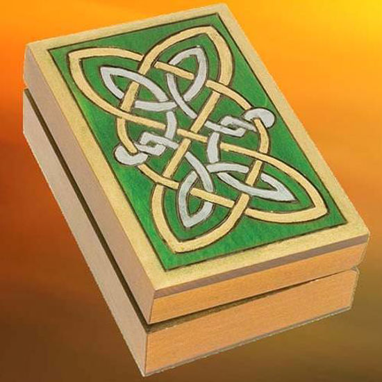 Picture of Celtic Knotwork Box