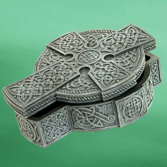 Picture of Celtic Cross Jewelry Box