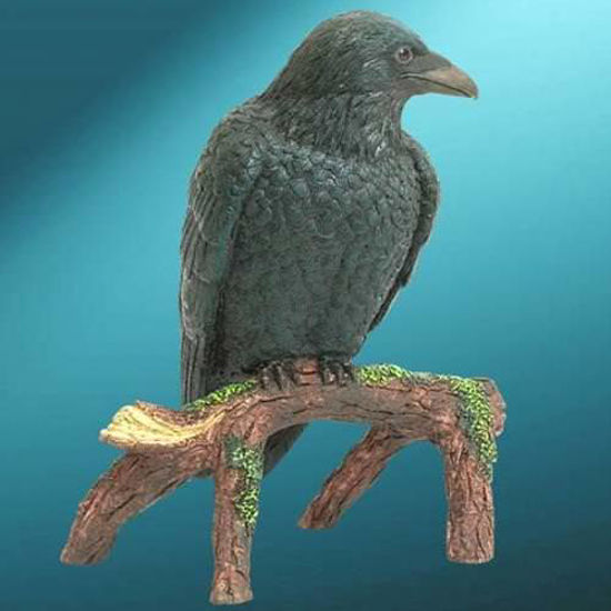 Picture of Raven Statue