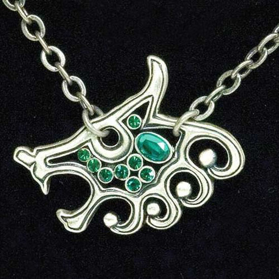 Picture of Viking Wolf Head Necklace
