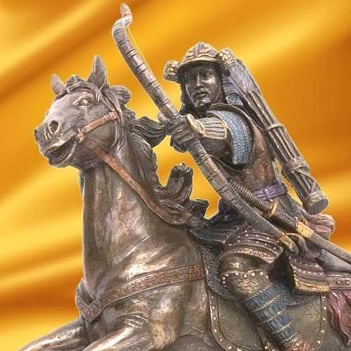 Picture of Samurai Archer on Horse