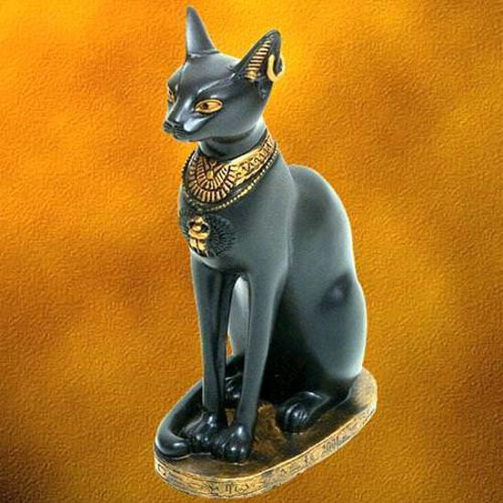 Picture of Honored Cat Figurine