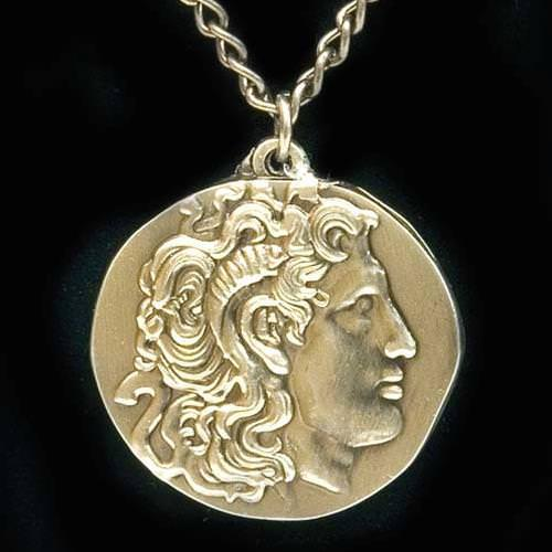 Picture of Coin Necklace of Alexander