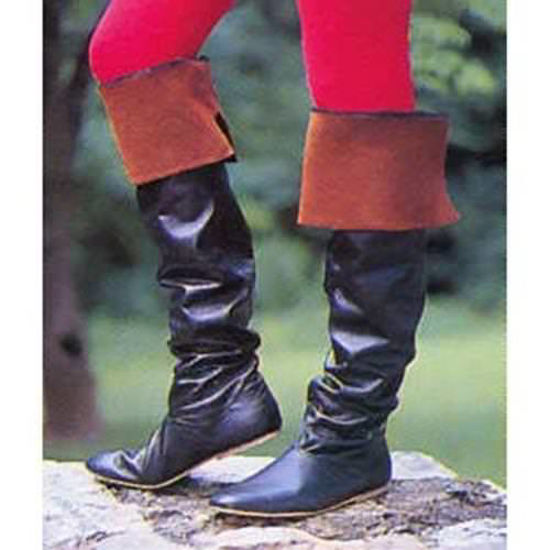 Picture of Thigh High Round Toe Boots