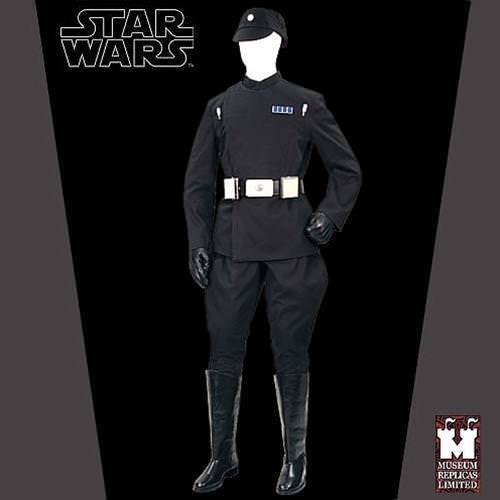 Picture of Imperial Death Star Officer Full Ensemble with Boots