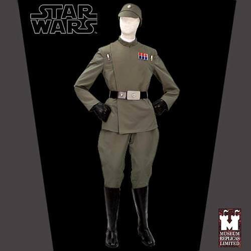 Picture of Imperial Fleet Officer Full Ensemble with Boots