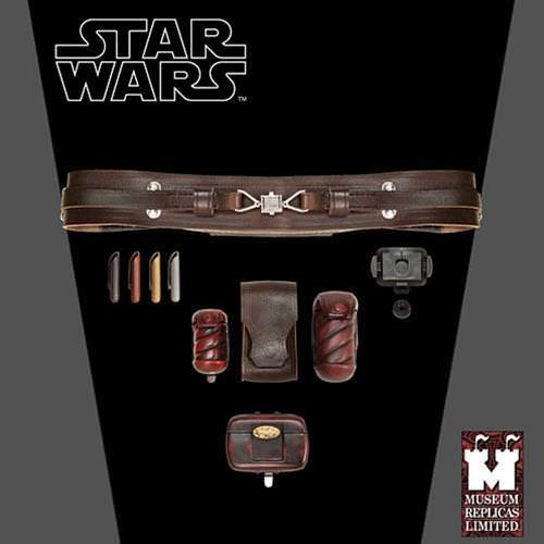 Picture of Obi-Wan Kenobi Jedi Belt with Accessories