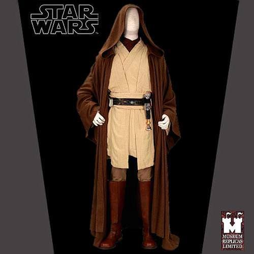 Picture of Obi-Wan Kenobi Full Jedi Ensemble with Boots