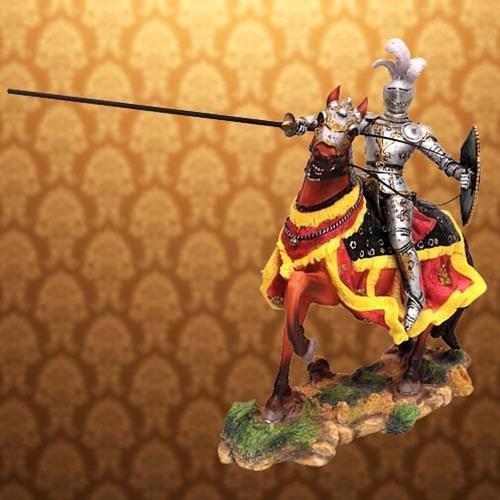 Picture of Gallant Knight Statue