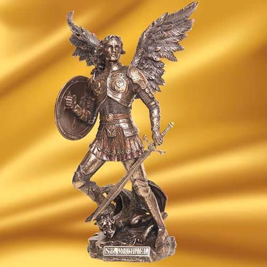 Picture of Archangel Saint Michael Statue