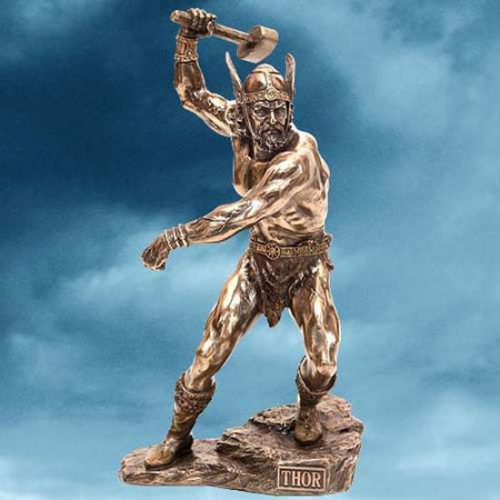 Picture of Thor Statue