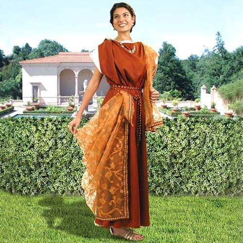 Picture of Roman Gown with Scarf