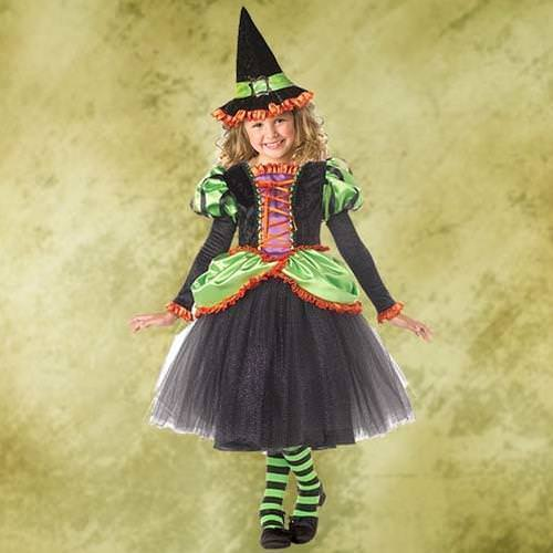 Picture of Storybook Witch Girl's Costume