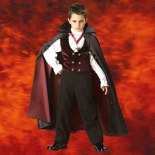 Picture of Gothic Vampire Boys Costume