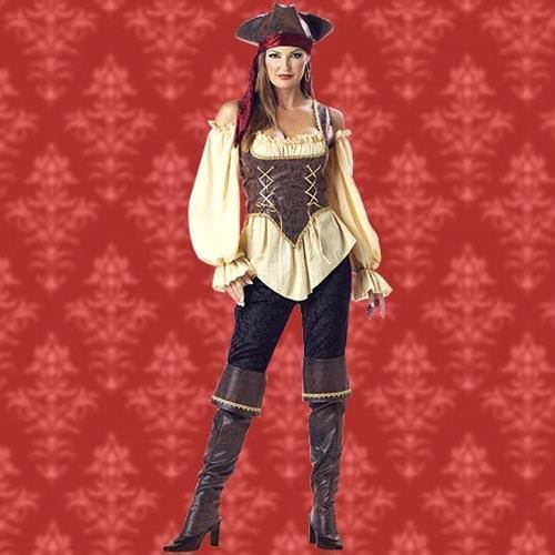 Picture of Rustic Pirate Lady Complete Costume
