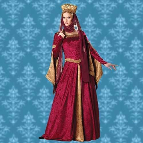 Picture of Maid Marian Renaissance Gown
