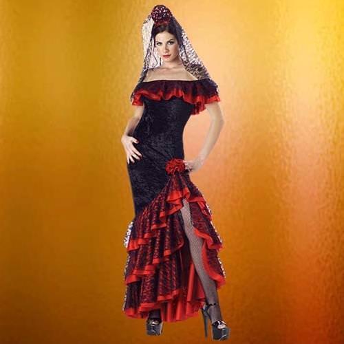 Picture of Señorita Complete Costume