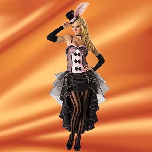 Picture of Burlesque Babe Ladies Complete Costume