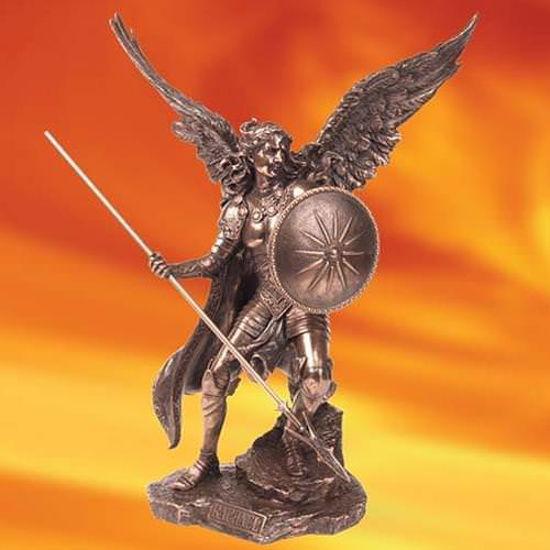 Picture of Saint Raphael Statue